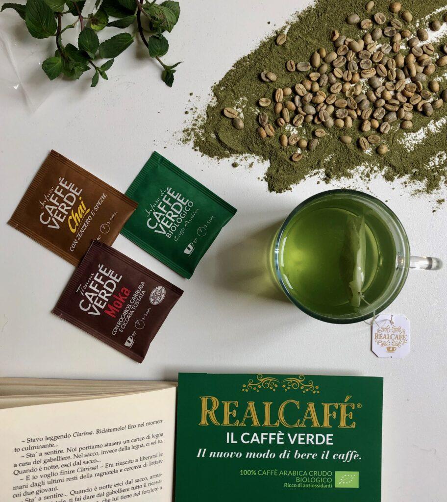 caffè verde tostato